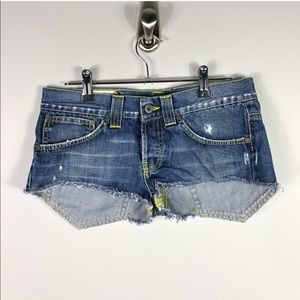 Dondup Denim Jude Jean Shorts Italian Cotton 492